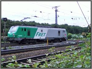 SNCF-437 017 in Gremberg Nord