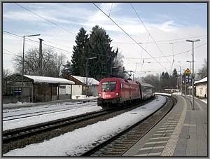ÖBB-1116 081 mit EC 865 in Bad Endorf