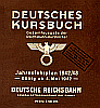German Timetable 1942/43
