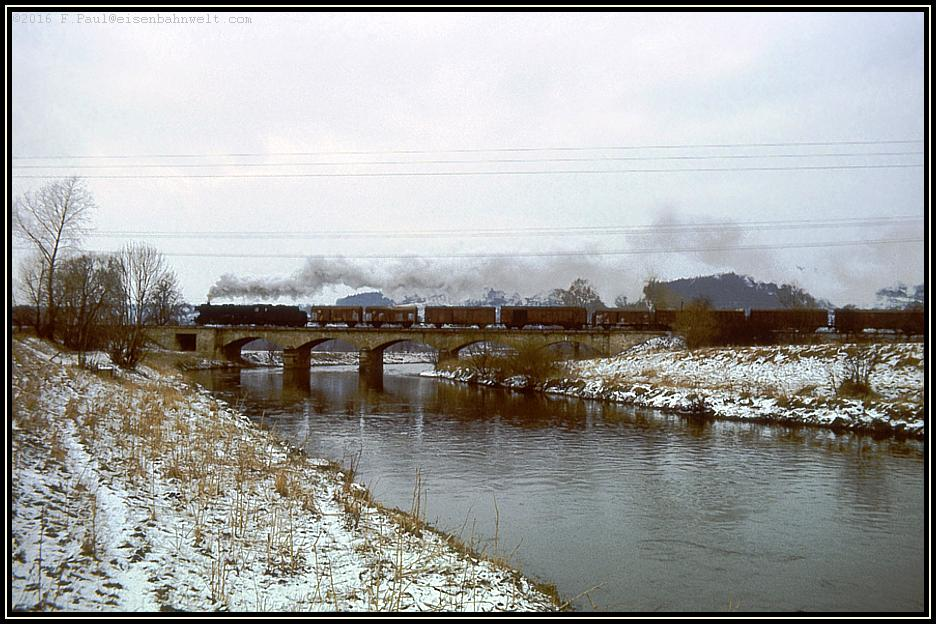 Winterreise ins Saaletal